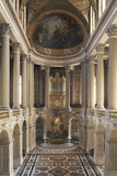 Interior of Versailles' Chapel Photographic Print