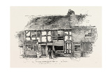 House in Which Shakespeare Was Born as it Was before the Restoration Giclee Print