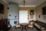 Interior of Alexander Pushkin's (1799-1837) Mother's Rural Estate of Mikhailovskoe Giclee Print