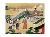 Inside a House in the Outskirts of Kyoto Giclee Print