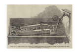 Model of a Fish-Ladder for Salmon to Ascend Milldams and Weirs Giclee Print