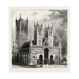 Lincoln Cathedral Giclee Print