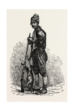 Kurdish Hunter. Kurdistan Refers to Parts of Eastern Turkey (Turkish Kurdistan) Giclee Print