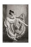 Madame Saharet Aka Clarissa Campbell or Clarice Campbell Giclee Print