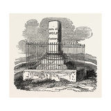 Monument to Wolfe Giclee Print