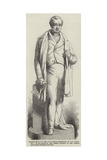 Marble Statue of the Late George Stephenson Giclee Print