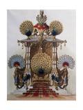 Peacock Throne for Moorish Cloister of Linderhof Palace Giclee Print