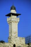 Minaret of Al-Aqsa Mosque or Temple Mount Photographic Print