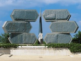 Monument to Jewish Soldiers and Resistance Fighters Photographic Print