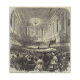 Meeting of the British Association at Birmingham Giclee Print