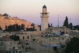 Minaret of Al-Aqsa Mosque Seen from the Muslim Quarter Photographic Print