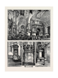 Old Chelsea Church: 1. Interior Giclee Print
