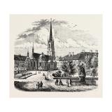 Riddarholm Church. the Riddarholmen Church Giclee Print