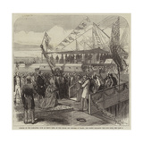 Opening of the Alexandra Dock at King's Lynn Giclee Print