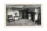Room in Which Shakespeare Was Born Giclee Print