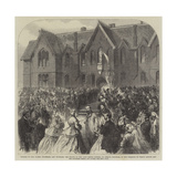 Opening of the Albert Infirmary Giclee Print