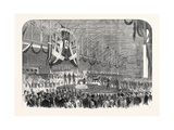 Opening of the Railway from Gottenburg to Stockholm Giclee Print