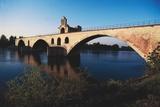 Pont Saint-Benezet and Saint Nicholas Chapel Giclee Print