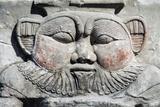 Relief Depicting God Bes Fotografisk tryk