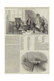 Rehearsal of the Game of Chess Played Between London and Portsmouth Through the Electric Telegraph Giclee Print