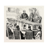 Presentation of the Freedom of the Bororgh of Birmingham to Mr. Chamberlain in the Council House Giclee Print