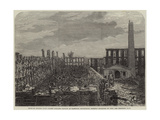 Ruins of Colonel Colt's Patent Firearms Factory at Hartford Giclee Print