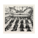 The Banquet in the Town. Hall Mr. Chamberlain Speaking Giclee Print
