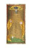 Tarot Depicting the Emperor Giclee Print