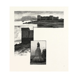 South Eastern Quebec, Chambly, the Old Fort, and Chambly Rapids Giclee Print