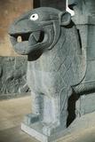 Statue of Lion Photographic Print
