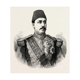 The Khedive Tawfeek. Egypt Giclee Print