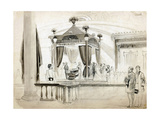 The Funeral Catafalque at Springfield Giclee Print