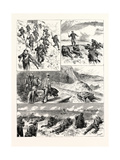 The Channel Squadron at Portland: a Sham Fight: 1. Ten Minutes to Go Up Giclee Print