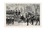 The Funeral of Lord Napier of Magdala Giclee Print