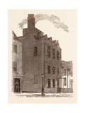 The Last London Residence of Sir Isaac Newton Giclee Print