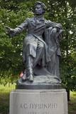 Statue of Poet Alexander Pushkin (1799-1837) Giclee Print
