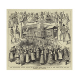 The International Peasant Festival at the Royal Albert Hall Giclee Print