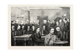 The International Chess Congress: Some of the Chief Members of the Liverpool Chess Club; Mr. Harris Giclee Print