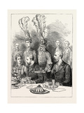 The Prince of Wales in Sweden: the Farewell Lunch at Drottningholm Giclee Print