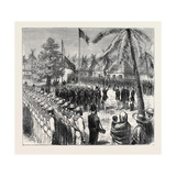The Recent Outrage on the British Consul at Guatemala: the Guatemalan Troops Saluting the British F Giclee Print