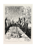 The Prince of Wales in Sweden: Drinking the Prince's Health With Flying Topsails Giclee Print