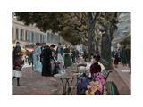 The Promenade Carlsbad Giclee Print