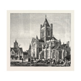The Restoration of Christ Church Cathedral Giclee Print