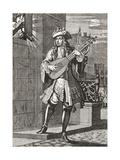 The Love Serenade. after an 18th Century Work in Illustrierte Sittengeschichte Vom Mittelalter Bis Giclee Print