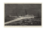 The Loss of the Anchor Line Ss Utopia Off Gibraltar Giclee Print