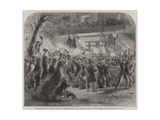 The Election of Mr Horatio Seymour Giclee Print