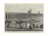The Nile Barrage Giclee Print