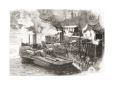 The Steamboat Quay at the Broomielaw Giclee Print