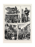 The Street Vendors' Question Giclee Print