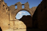 The Ruins of the Byzantine Basilica (3rd Century Ad) Photographic Print